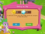 Cherry on Top reward MLP Game