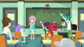 Cranky and students cheering for Fluttershy EGDS10.png