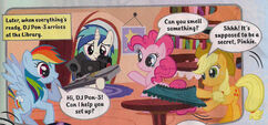 DJ Pon-3 arrives at library UK Magazine 42