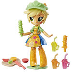 Equestria Girls Minis Applejack Fruit Smoothies Shop set