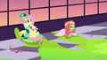 Fluttershy and Tree Hugger not stuck anymore S5E7.png