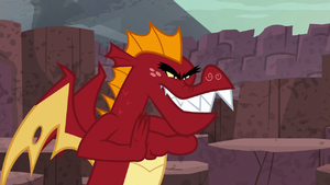 "Garble ""get revenge on those puny ponies!"" S6E5"