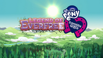 Legend of Everfree opening credits normal logo EG4