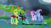 Painted Changeling -you need to do more than talk!- S7E17