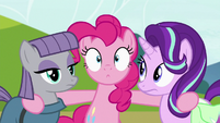 Pinkie Pie in stunned surprise S7E4