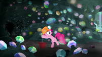 Pinkie about to push a dynamite plunger S7E4