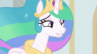 "Princess Celestia ""theater must be about"" S8E7"