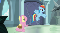"Rainbow Dash ""exposes her secret"" S9E21"