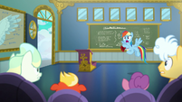 Rainbow Dash --wake up, newbies!-- S6E24