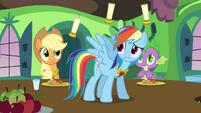 Rainbow Dash Surprised S3E10