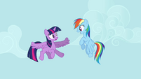 Rainbow Dash giving flying advice S4E1