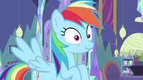 Rainbow pauses between sound effects MLPS2