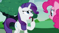 Rarity -it is the opposite of okay!- S7E9