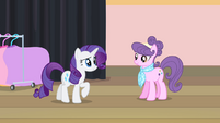 Rarity -you haven't been back in years- S4E08