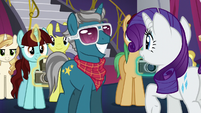 Rarity meeting Fashion Plate S5E14