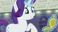 Rarity realizes what time it is S8E4
