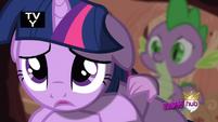 S03E13 Spike pociesza Twilight