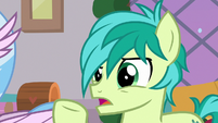 Sandbar -why are you admitting this now-- S8E16