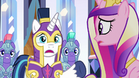 "Shining Armor ""I thought you had her"" S9E1"