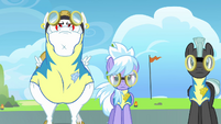 Snowflake and Cloudchaser standing together S3E7