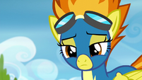 Spitfire shakes her head in disappointment S6E7