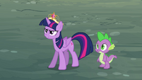 Twilight feels insulted by Discord S4E02