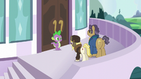 "Whinnyapolis delegate ""we need the Princess Twilight to resolve it"" S5E10"