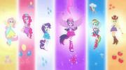 As 6 garotas unidas pela mágica EG