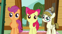 CMC and Zipporwhill feel sorry for Sweetie Belle S7E6