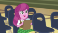 Cheerilee happy with Fluttershy's audition CYOE2b.png