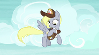 Derpy reaching into her mailbag S8E25
