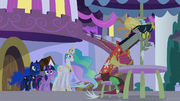 Discord eagerly watching the chaos S9E17