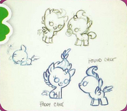 EoH guidebook - Foal concept art by Lauren Faust