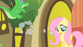 Fluttershy watches Pinkie collapse S1E25.png