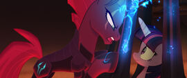 MLP The Movie Metrofilms - Tempest Shadow and imprisoned Twilight