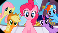 Main 5 ponies waking Rarity up S02E09.png