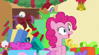 "Pinkie ""this is the biggest holiday challenge"" MLPBGE"