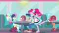 Pinkie Pie places tray at Lyra and Bon Bon's table SS15.png