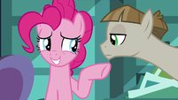 "Pinkie Pie uncomfortable ""you and me!"" S8E3"