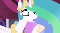 Princess Celestia -by the time I get to retire- S7E10