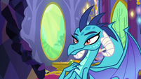 Princess Ember with a full stomach S7E15