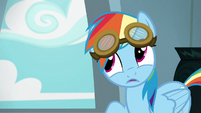 Rainbow --sunglasses are automatically cool-- S6E7