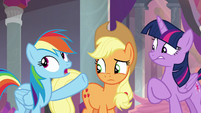 "Rainbow Dash ""not all the time"" S8E9"