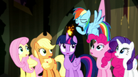 Rainbow Dash -we've got the cure for that!- S5E13