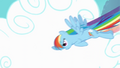 Rainbow Dash flying through clouds S4 Opening.png