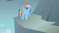 Rainbow Dash jumps across the gap first S1E07.png