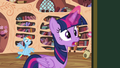 Rainbow moving stool while Twilight is teaching S4E21.png
