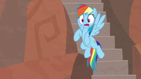 Rainbow shocked by Daring's capture S9E21