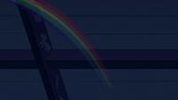 Rainbow speeding away from the zombies S6E15