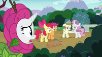 "Rarity ""after she's done with her conversation"" S7E6"
